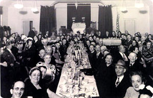 Silver Anniversary dinner for Beth Israel in 1949