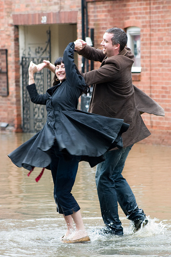 Have a dance: no rain required