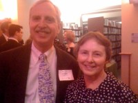 Tom Leonard, head of the UC Berkeley libraries, and his wife, Carol