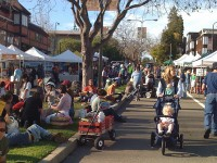 Berkeley's Farmers' Markets: outdoor tent revivalists?