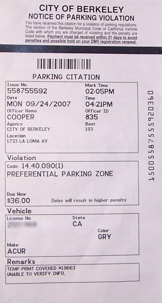 printable parking tickets - Kubre.euforic.co