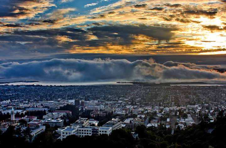 Spring storms over Berkeley. Photo: D.H. Parks