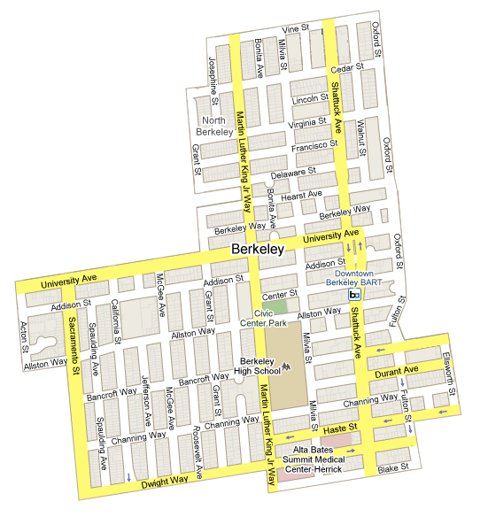 District 4, City of Berkeley (Click to view larger). Image: City of Berkeley