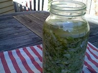 Simple sauerkraut: A popular fermented food. Photo: Nishanga Bliss
