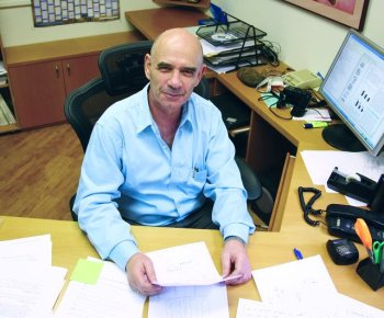 Shlomo Bentin, an Israeli cognitive neuroscientist, who died in a bicycle accident on July 13. Photo: The Hebrew University of Jerusalem
