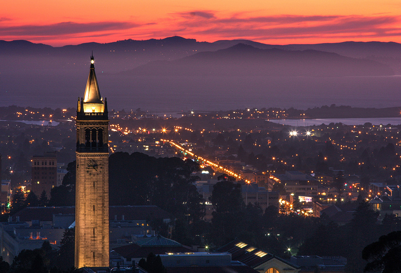 Berkeley on a hazy night. Photo: Joe Parks