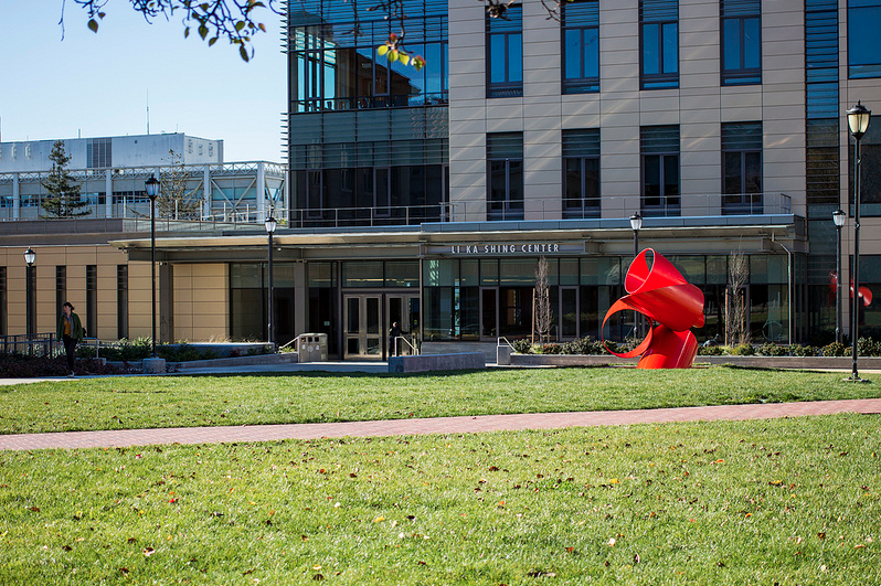 Li Ka Shing was vandalized over the weekend, according to the University of California Police Department. Justin C.