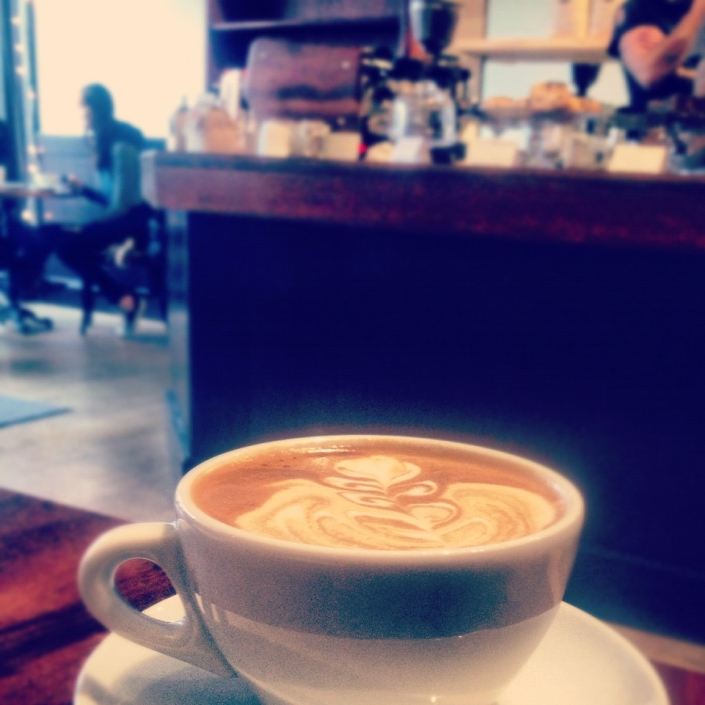 Timeless Coffee opened last week on Piedmont Ave. in Oakland