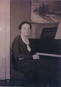 Alice Rose Plotter in Prague in 1924