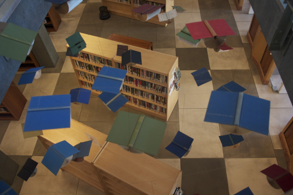 Berkeley Library Art Installation 5/10