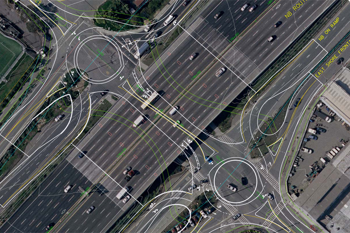 City staffers say that roundabouts on Gilman Street at I-80 will improve the interchange in several important ways. Image source: City of Berkeley