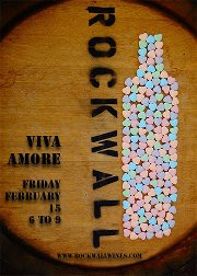rock wall viva amore flyer