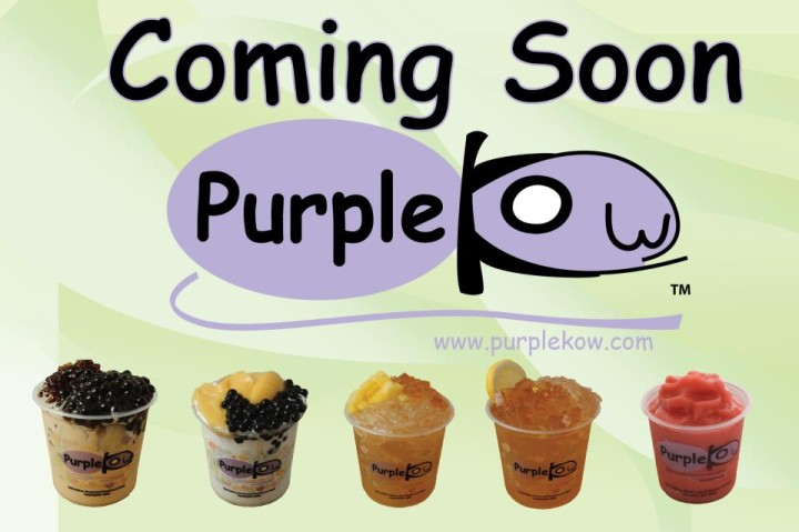 Purple Kow coming soon