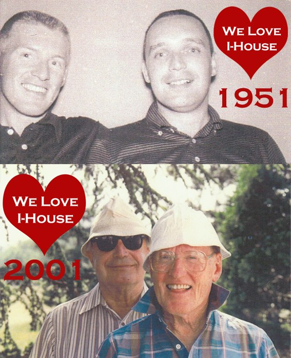 Vern Haddick and Paul Herman met as residents at International House and formed a lasting partnership that endured more than fifty years. Image courtesy of International House.