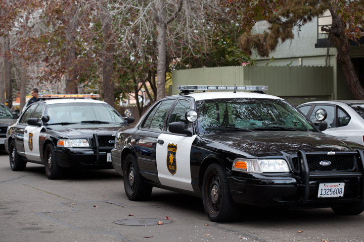 Berkeley Police cruisers. Photo: Emilie Raguso