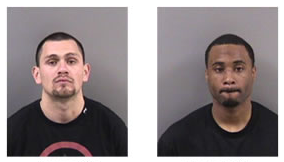 Police arrested Aaron Carmona (left) and Sean Carter after an assault on Durant. Image: UCPD