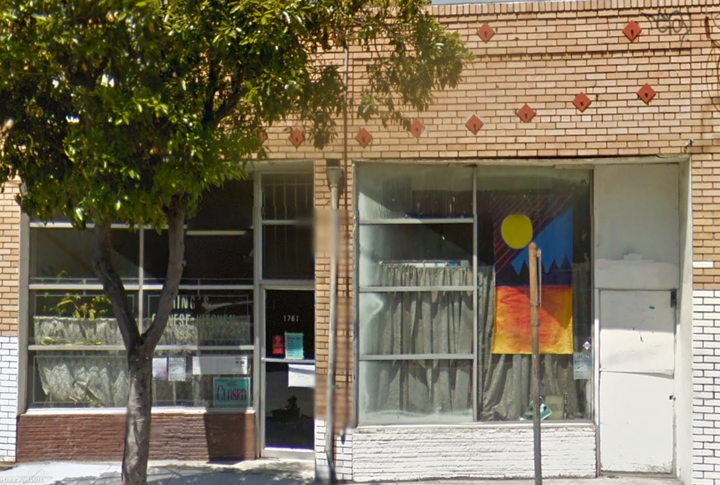 Viet Vu plans to turn the vacant storefront on the right into a nano-brewery and beats lounge. Image: Google Maps
