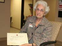 Norma Perlstein, American Red Cross