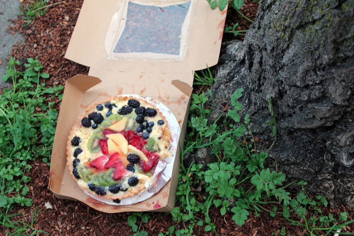 The pastry tree is bearing fruit. Photo: Quinn Dombrowski