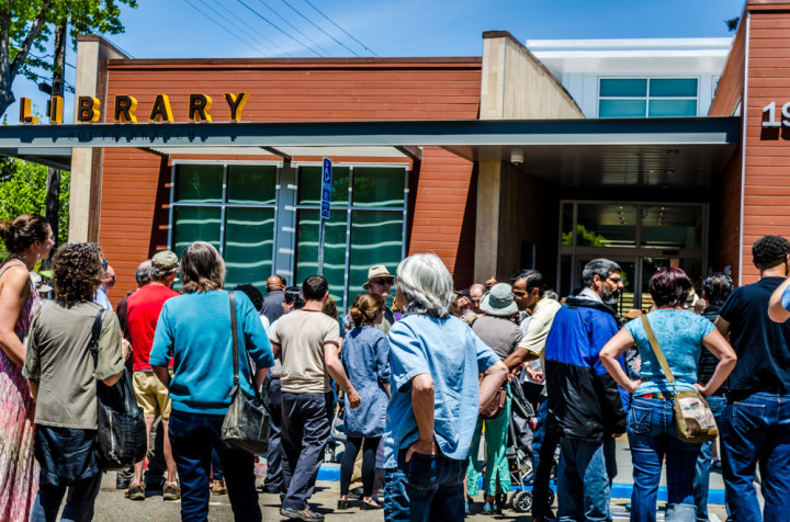 The South Branch of the Berkeley Public Library on its xxx opening day. Photo: Richard Friedman
