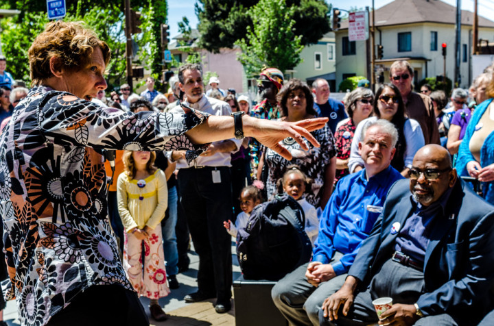 Berkeley Public Library South Branch Reopening