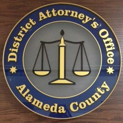 Alameda County district attorney's office seal, via Facebook.