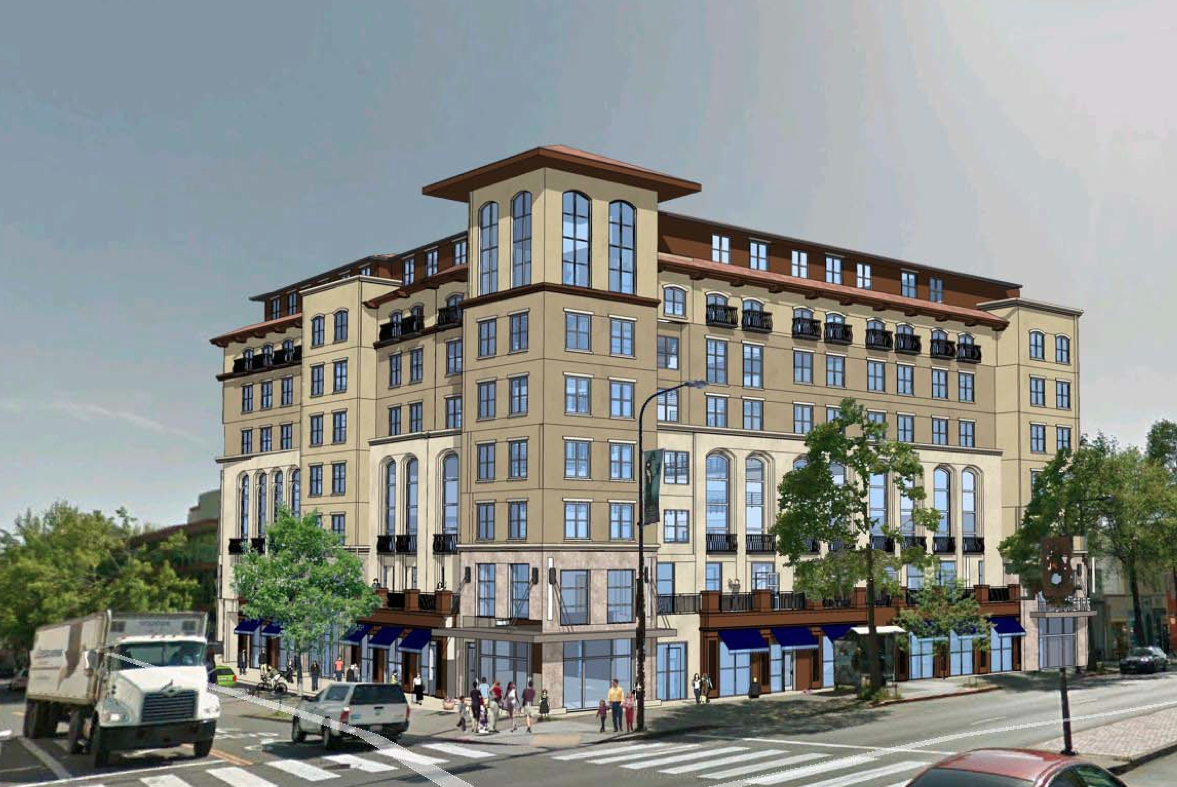 Developer Submits 8 Story Project For University Milvia