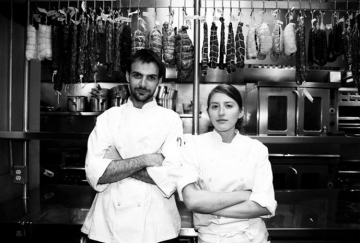 Fred and Elizabeth Sassen, co-owners of Homestead, a new restaurant coming to Piedmont Avenue in Oakland. Photo: Homestead