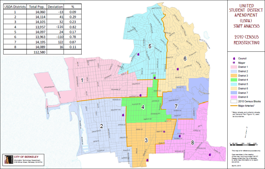 Councilman Kriss Worthington's office created an alternate vision of a student district that adds Foothill, Bowles, Stern, I-House and 11 co-ops.