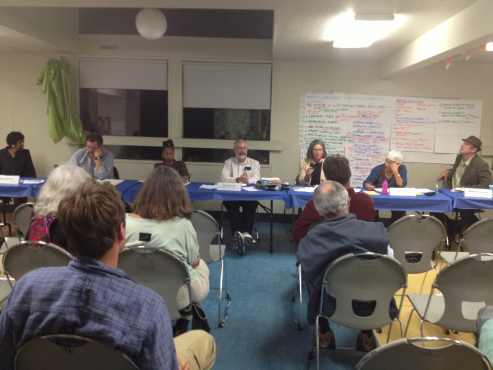 The Berkeley Parks and Waterfront Commission met on Oct. 2 to discuss ways to improve the City's parks. Photo: Eli Wolfe
