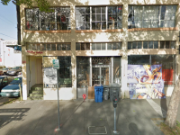 Berkeley officials contend that 40 Acres is operating an illegal cannabis operation on the top floor of this building at 1820-1828 San Pablo Avenue. Photo: Google Street View