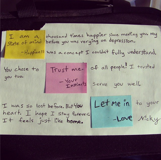 New directions in Post-its. Photo: Postette