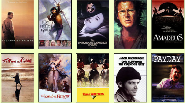 Films produced by the Saul Zaentz Company