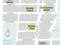 More than 1,400 units are in the works for downtown. Image: Downtown Berkeley Association