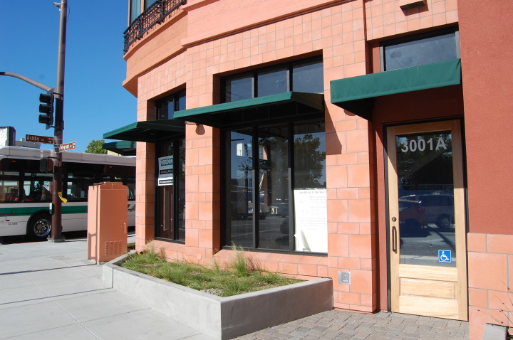 The new Starbucks will open at 3001A Telegraph Ave. in the Telegraph Gardens building at the intersection with Ashby. Photo: Tracey Taylor