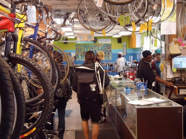 Street Level Cycles, or Watershed Workshops, is a non-profit that uses use vocational education to promote youth development.