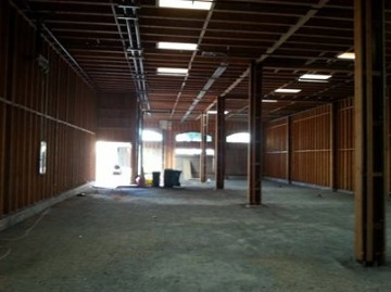 Build-out for Alameda Island Brewing Co.