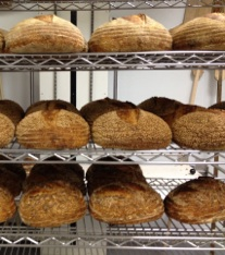 Fresh loaves made by Morell's Bread. Photo: Morell's