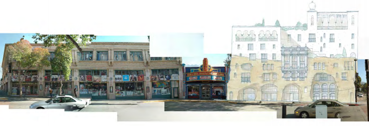 What Telegraph Avenue, at Haste, could one day look like. Photo simulation: Kirk Peterson & Associates