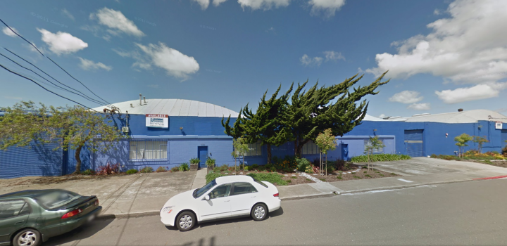 The building at 1150 6th St. in North West Berkeley where Far West Brewing plans to open a craft brewery, barrel-aging facility and restaurant. Image: Google Maps