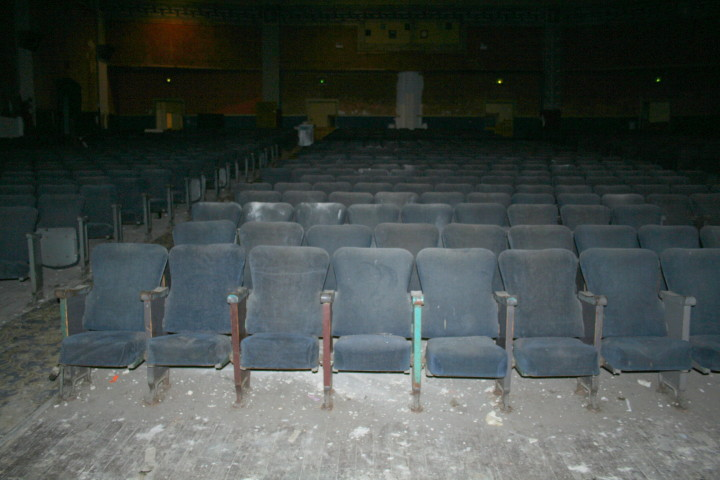 The interior of the UC Theater Photo: Frances Dinkelspiel