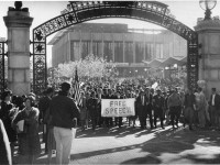 Berkeley's Free Speech Movement started 50 years ago. A new Shotgun Players production xxxxx. Photo: Courtesy of Bancroft Library