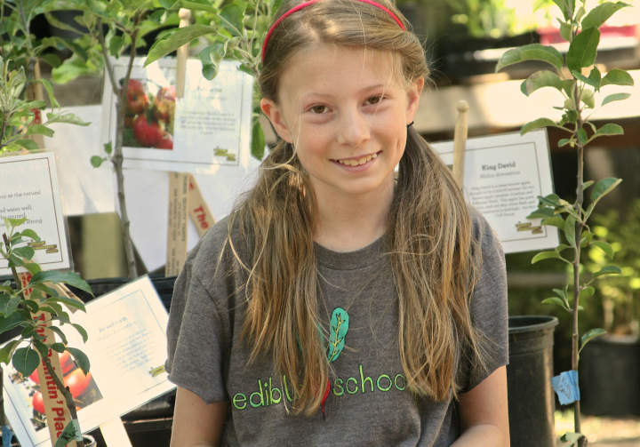 Edible Schoolyard Plant Sale 2014. Photo: Nancy Rubin