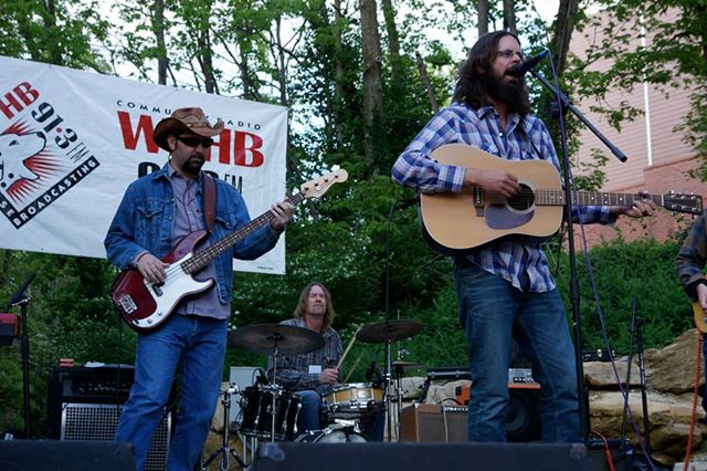 Otto Mobile and the Moaners at the Upland Brew Pub in Indiana. They will play at the Starry Plough Saturday night.