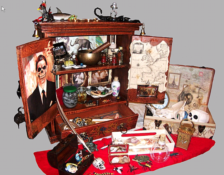 Cabinet of Curiosities.  Photo: Conny Bleul-Gohlke.