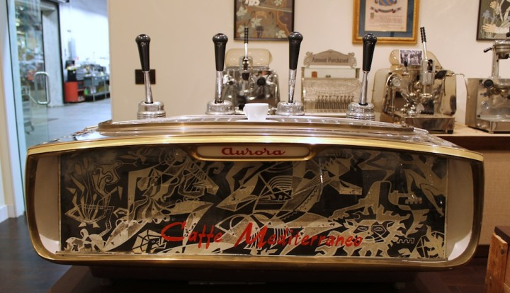 Before they became a coffee business, Mr. Espresso imported and repaired espresso machines, including the first one for the famous Caffe Med on Berkeley's Telegraph Avenue. Photo: Kate Williams