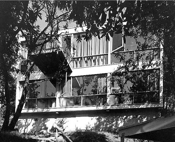 The Kip House on San Diego Road in Berkeley, designed by Donald Olsen. Photo: Rondal Partridge