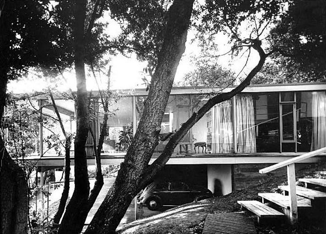 The Olsen House on San Diego Road in North Berkeley. Photo: Rondal Partridge