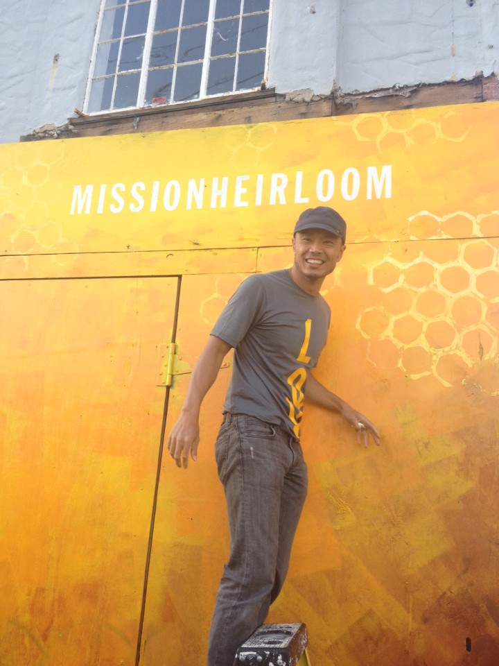 Bobby Chang of Mission: Heirloom. Photo: Mission: Heirloom