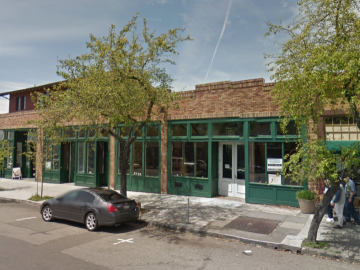 New Comal space/Old Wright's Garage. Photo: Google